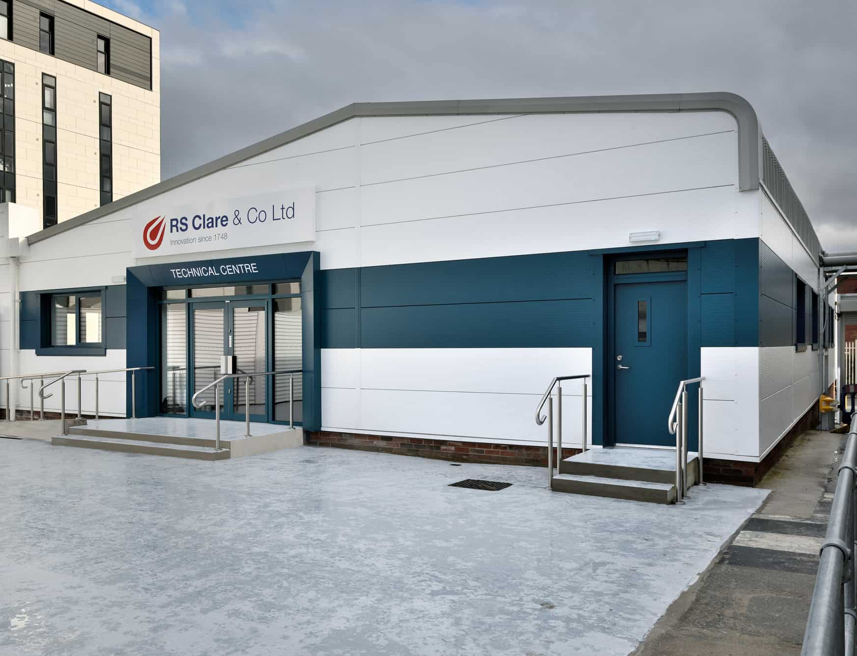 RS Clare's New Technical Centre
