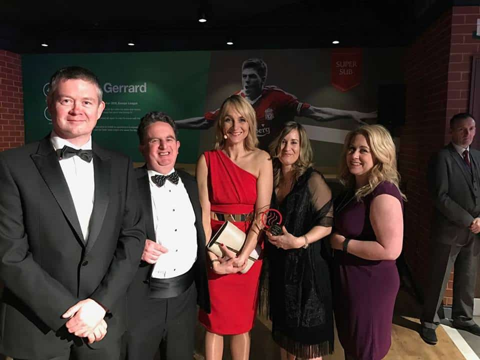 RS Clare Winners of the Global Reach Award