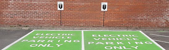 RS Clare Commissions Electric Vehicle Charging Stations in Liverpool Head Office Car Park for Staff and Visiting Customers